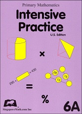 Primary Mathematics 6A Intensive Practice (U.S. Edition)