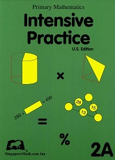 Primary Mathematics 2A Intensive Practice (U.S. Edition)