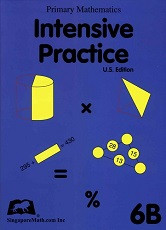Primary Mathematics 6B Intensive Practice (U.S. Edition)