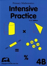 Primary Mathematics 4B Intensive Practice (U.S. Edition)