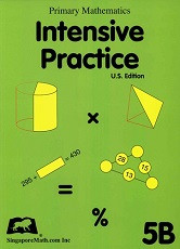 Primary Mathematics 5B Intensive Practice (U.S. Edition)