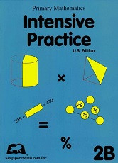 Primary Mathematics 2B Intensive Practice (U.S. Edition)