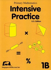 Primary Mathematics 1B Intensive Practice (U.S. Edition)
