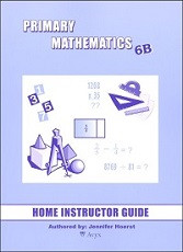 Primary Mathematics 6B Home Instructor's Guide