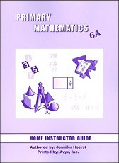 Primary Mathematics 6A Home Instructor's Guide