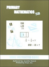 Primary Mathematics 5B Home Instructor's Guide
