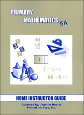 Primary Mathematics 5A Home Instructor's Guide