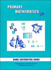 Primary Mathematics 2B Home Instructor's Guide