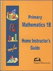 Primary Mathematics 1B Home Instructor's Guide