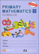 Primary Mathematics 6B Workbook