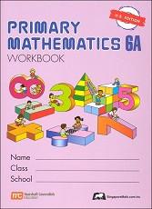 Primary Mathematics 6A Workbook
