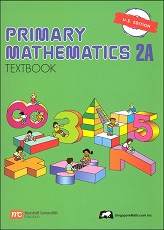 Primary Mathematics 2A Textbook