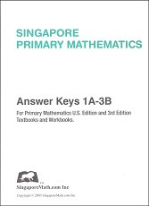 Primary Mathematics 1A-3B Answer Key