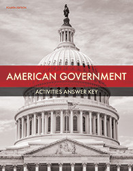American Government Student Activities Manual Answer Key (4th ed.)