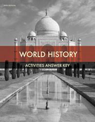 World History  Activity Manual Answer Key (5th ed.)