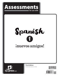 Spanish 1 Tests (3rd ed.)