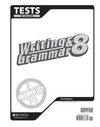 Writing and Grammar 8 Test Answer Key (3rd Ed.)