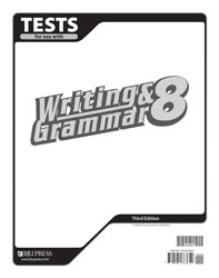 Writing and Grammar 8 Test (3rd Ed.)