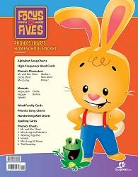 Focus on Fives Phonics Charts Homeschool Packet