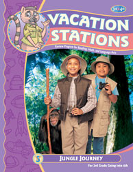 Vacation Stations: Jungle Journey (for 3rd grade going into 4th)