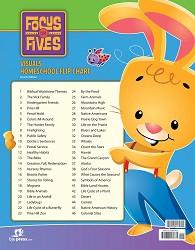 Focus on Fives Visuals Homeschool Flipchart