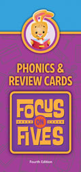 Focus on Fives Phonics and Review Cards (4th ed.)