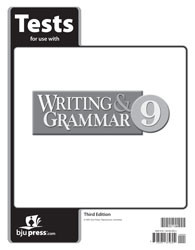 Writing and Grammar 9 Test 3rd Edition