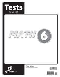 Math 6 Test (3rd Ed.)