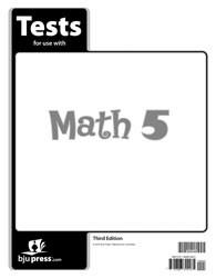 Math 5 Test (3rd Ed.)