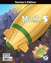 Math 5 Teacher's Edition (3rd Ed.)
