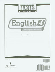 English 4 Test (2nd Ed.)