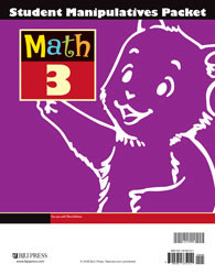 Math 3 Student Manipulatives Packet (3rd Ed.)