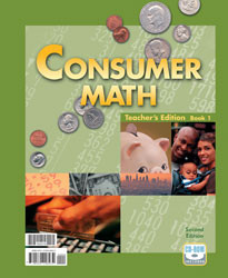 Consumer Math Teacher's Edition (2nd Ed.)