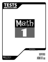 Math 1 Test (3rd Ed.)