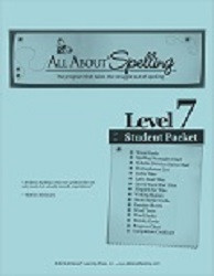 All About Spelling Level 7 Student Material Packet