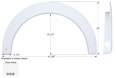 Single Fender Skirt for Aliner Campers - FS4067