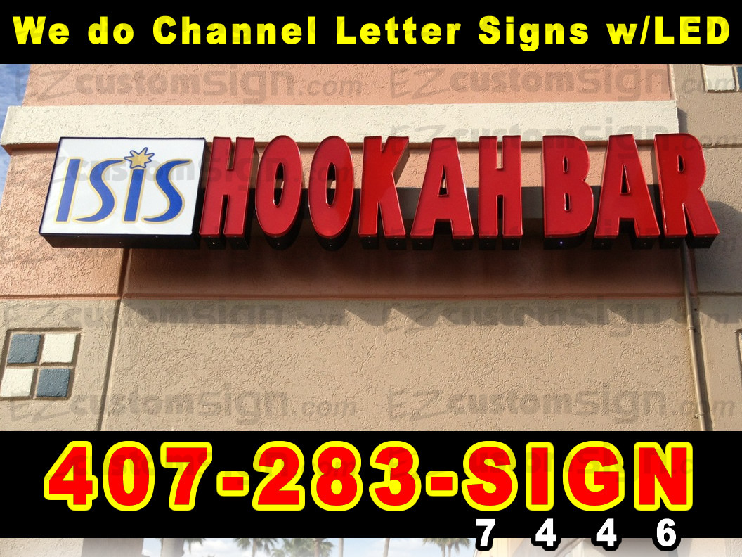 Channel Letters Sign for Storefront Best Price [ LOCAL PICKUP