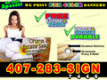3x6  Banner Sign Full Color Custom Print (FREE SHIPPING)