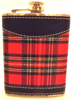 Royal Stewart 8 oz Hip Flask