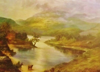 'Loch Awe', Art Print By Prudence Turner