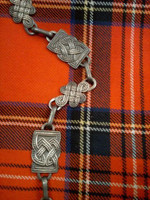 Traditional Celtic Sporran Chain Strap