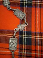 Traditional Celtic Sporran Chain Strap
