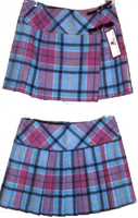Pure New Wool Ladies Skirt w/Black Belt and Pin
