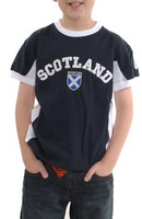 Children's Scotland Saltire Shield T-Shirt