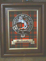 Framed Clan Crest Plaque