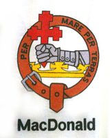 Clan Collared T-Shirt - Macdonald