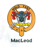 Clan Collared T-Shirt - Macleod