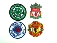 Football Team Patches