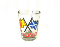 Single Scotland Shotglass