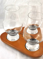 Penderyn Crystal Glass and Tray Set